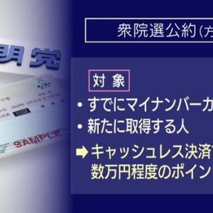 【悲報】公明党「マイナンバーカード持ってる人だけに数万円給付するわwwwwww」
