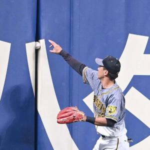 阪神・植田「あえてボールを引き抜かなかった?」好判断でサヨナラ負けのピンチ脱す
