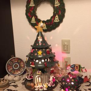 クリスマスツリー出しました^_^