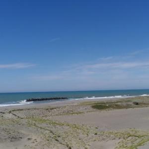 砂丘と餃子ツーリング