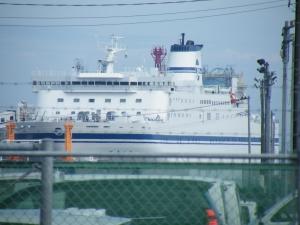 太平洋フェリー新造船きたかみ