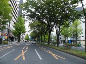 朝の仙台市内へ
