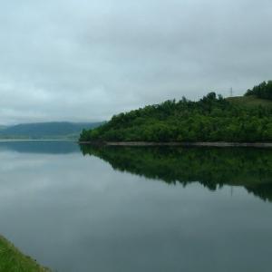 糠平ダム湖