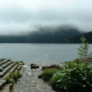 然別湖畔に戻りました