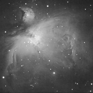 月光の下、QHY5L-ⅡM で M42 を撮ってみた・・・結果は(^^)/