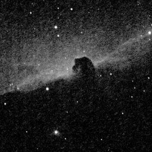 QHY5L-ⅡM で 馬頭星雲 を撮影・・・ノイズだらけ