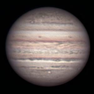夏の木星・・・ 長い秋雨が始まる1時間前、滑り込みセーフ