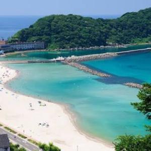 夏休み満喫…竹野浜
