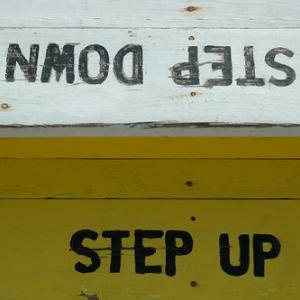 ステップアップを考える