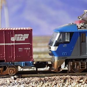 KATOEF201-101とJRコキコンテナ貨物とJNR(国鉄)コキ貨物列車