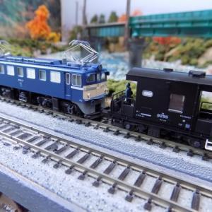KATOED62とヨ8000とTOMIX国鉄貨車シキ1000