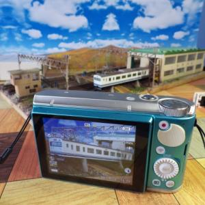 鉄道コレクション 第20弾JRクモハ123-3 カシオEX-ZR1800BEで撮影してみたら