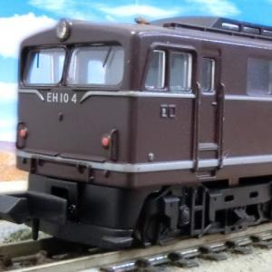 マイクロエース国鉄EH10-4 茶色 試作機 試験塗装(茶色)は重量級!