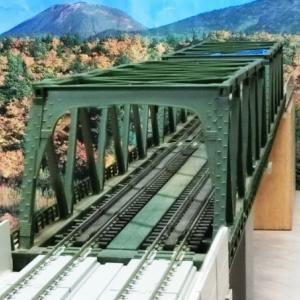 KATO複線トラス鉄橋を使ったジオラマを作る構想