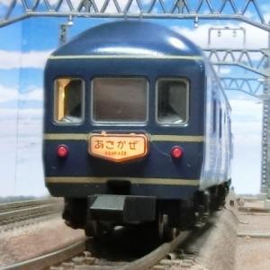 模型ジオラマで見る東京駅夜行列車ホーム(国鉄時代の東京駅風景)20系あさかぜ・あけぼの
