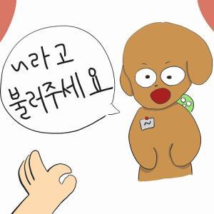 韓国語で「と呼んでください」というには?