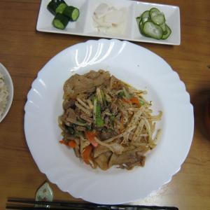 6/11 野菜炒め