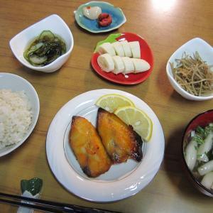 6/12 焼き魚はさば味噌漬け