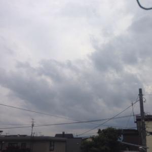 雷雨来ます