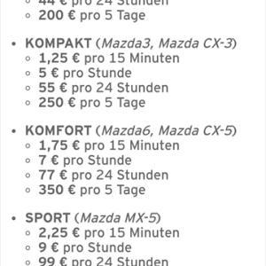 ドイツでマツダカーシェアリングサービスが2018年8月からスタート