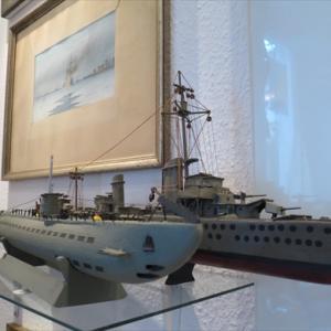 ドイツ 近所にある模型船博物館 Modellschiff Museum