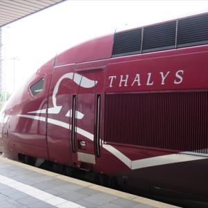デュッセルドルフ中央駅でタリスを見る Thalys Dortmund-Paris Nord