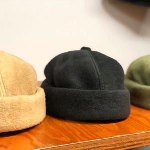冬の帽子の新定番に! 【DISCE GAUDERE】 FISHERMANS CAP !
