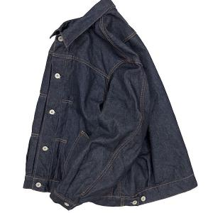 H.UNIT エイチユニット の左綾 GジャンLeft hand denim jacket !