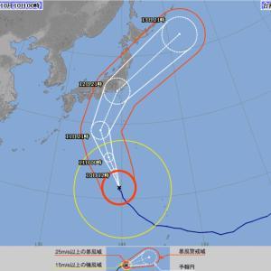 台風はご自宅で婚活資料に目を通して下さい。