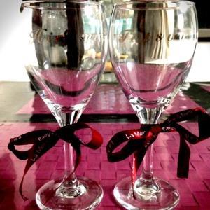 名入りペアワイングラス