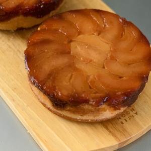 りんごのタルトタタン風ケーキ