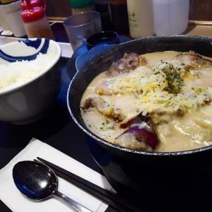 松屋で、限定シュクメルリ鍋