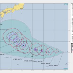 明日、明後日にも台風19号 /奄美直撃コース/町民体育大会に影響か