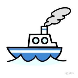 明日14日の船舶情報 /下り欠航/上り運航