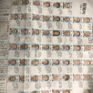 和泊町議会議員開票結果 / 2020議員選挙