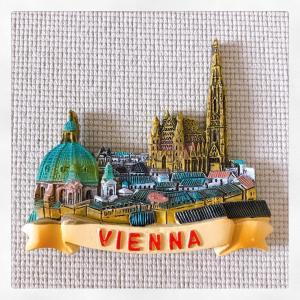オーストリア・ウィーン 観光地色々入り ご当地マグネット