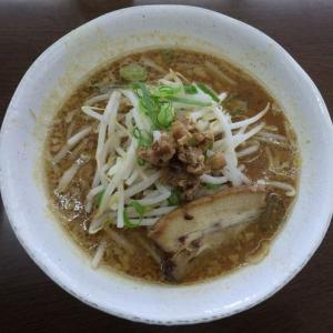 竹岡屋 [木更津市] / 熟成味噌ラーメン + チャーシューご飯