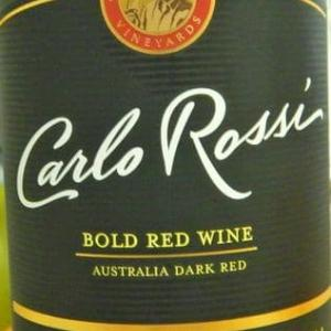 Carlo Rossi Bold Red Wine ~ マダコ