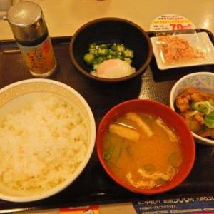 すき家 釜利谷店 [金沢区] / まぜのっけごはん朝食
