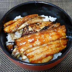 タチウオの蒲焼丼