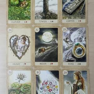 お月様を象徴カードとしたエネルギーの流れ