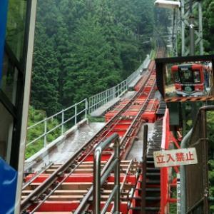 御岳山ケーブルカーに乗って   岩松喜一