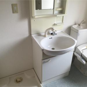 大掃除① トイレの窓掃除