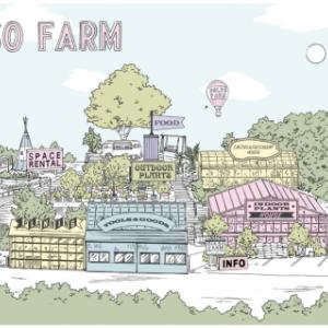 植物園のような園芸店:SOLSO FARM