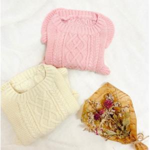 犬服♪ Frill Knit(フリルニット)