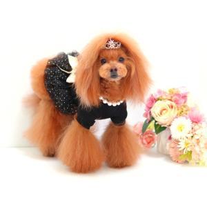 犬服♪ブラックチュチュワンピース