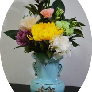 ブリザーブド仏花をメルカリで購入