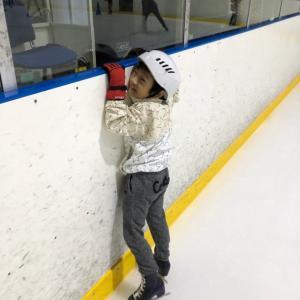 真夏のスケート教室