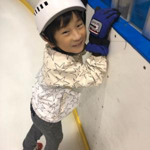 2回目のスケート教室
