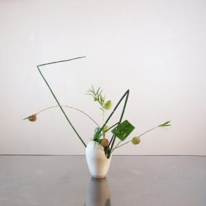花材の形・線・少しの色違いで遊ぶって楽しい